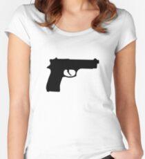 Gun Women's Fitted Scoop T-Shirt