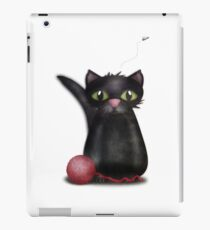 Kitty and the Fly iPad Case/Skin