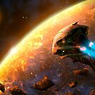 Red Planet by Jokisaloart