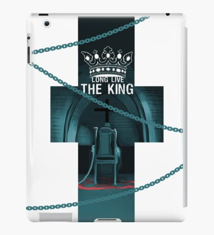 Long live the KING (2) iPad Case/Skin