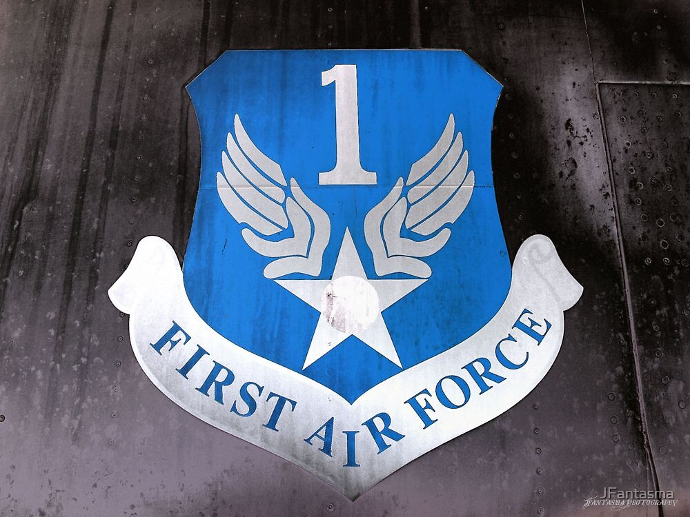 First Air Force Crest  by JFantasma