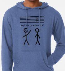 Funny Music Joke T-Shirt Leichter Hoodie