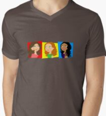 Three Girls Chatting T-Shirt