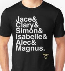 TMI main characters Unisex T-Shirt