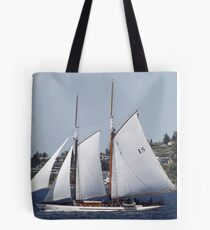 First Bright, Sunny, Spring Day on Commencement Bay Tote Bag