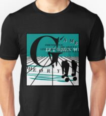 Game Theory - 2 Steps to the Middle Ages Tour  Unisex T-Shirt