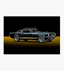 1965 Shelby Mustang G.T.350H Photographic Print
