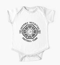 Dharma Initiative Football Team (Black Ver.) Kids Clothes