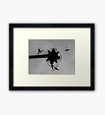 Hummingbirds #4 Framed Print