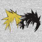 Final Fantasy Hair by Aaran Bosansko