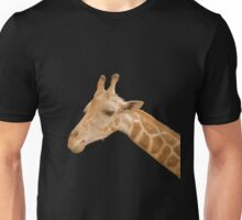 Orange Neon Giraffe Unisex T-Shirt