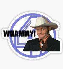 Anchorman - Champ Sticker