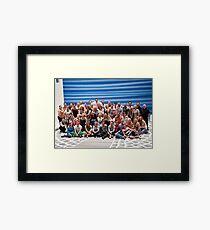 Mamma Mia London Cast Photo Framed Print