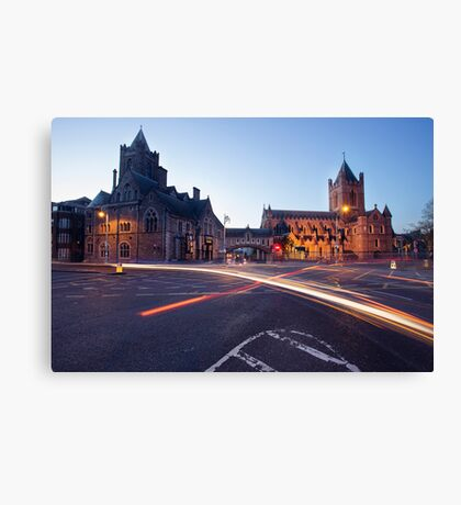 Christ Church, Dublin Canvas Print