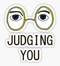 TJ Eckleburg is Judging YOU! Sticker