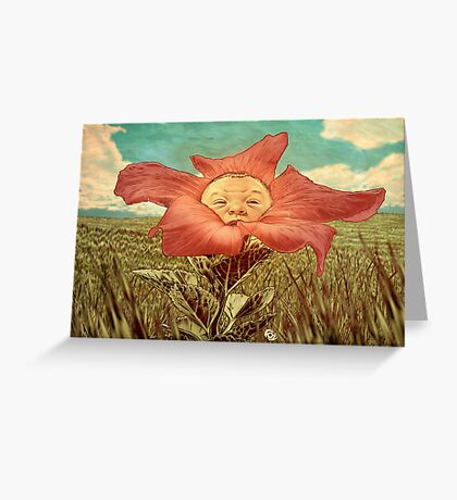 Here Comes The Son. Greeting Card