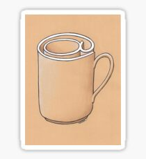 Electronic Mug Sticker