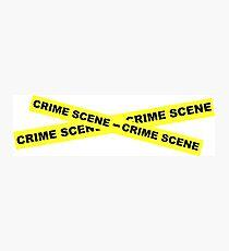 Crime Scene Tape Photographic Print