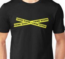 Crime Scene Tape Unisex T-Shirt