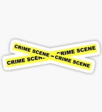 Crime Scene Tape Sticker