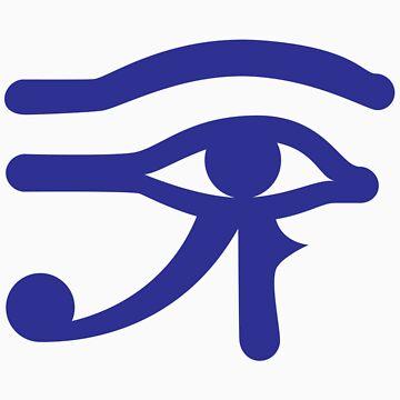 Eye of Horus by johnpicha