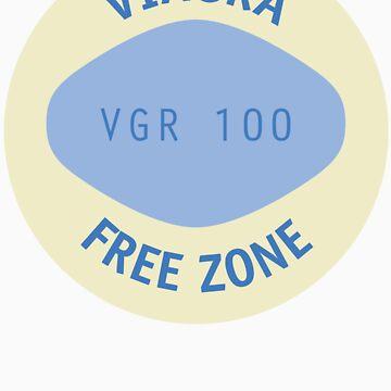 Viagra Free Zone by johnpicha