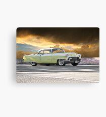 1955 Cadillac Coupe De Ville Canvas Print