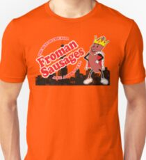 Froman Sausages Ad Unisex T-shirt in 17 Colors