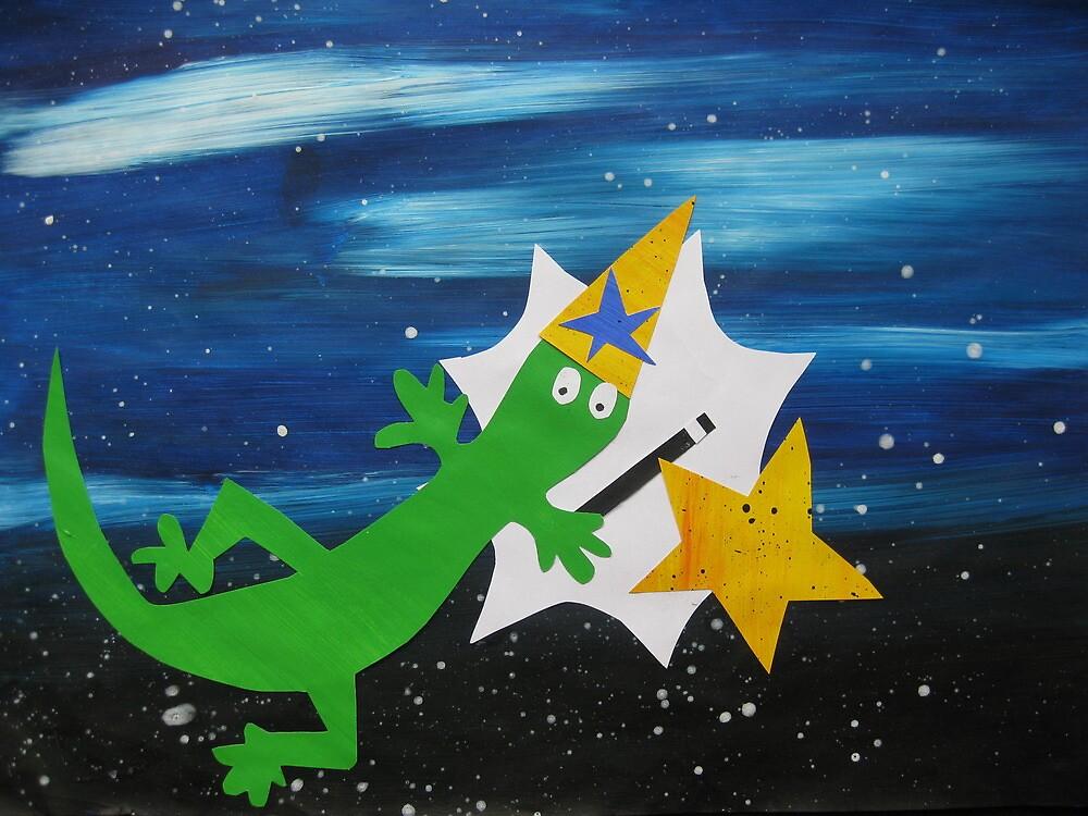 Lizard Wizard by cathyjacobs