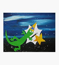 Lizard Wizard Photographic Print