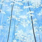Spring Forest I by Herb Dickinson