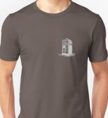 Dr Who's Tardis - Grey T-Shirt