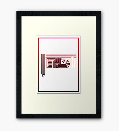pbbyc - Jehst Framed Print