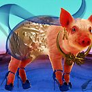 Pig ready to hit town by Annabellerockz