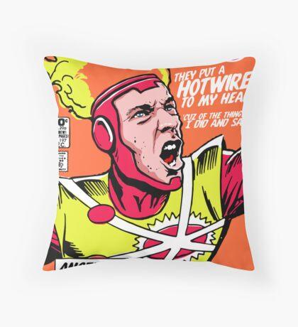 Post-Punk Heroes   Fire Throw Pillow