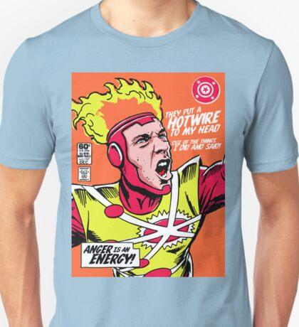 Post-Punk Heroes   Fire T-Shirt