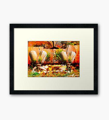Magic trees  Framed Print