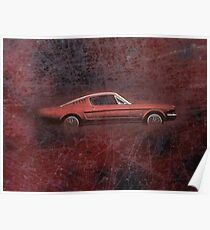 FORD MUSTANG. Poster