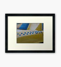 Taxi . . . Framed Print