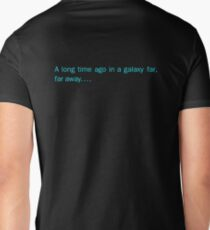 a long time ago in a galaxy far,far away.... (back) T-Shirt