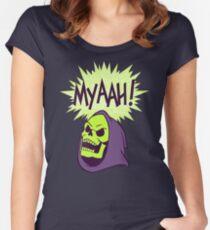 Myaah! Women's Fitted Scoop T-Shirt