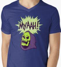 Myaah! Men's V-Neck T-Shirt