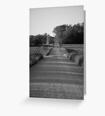 long and loney road Greeting Card