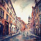 Rains in Prague by Varvara Drokova