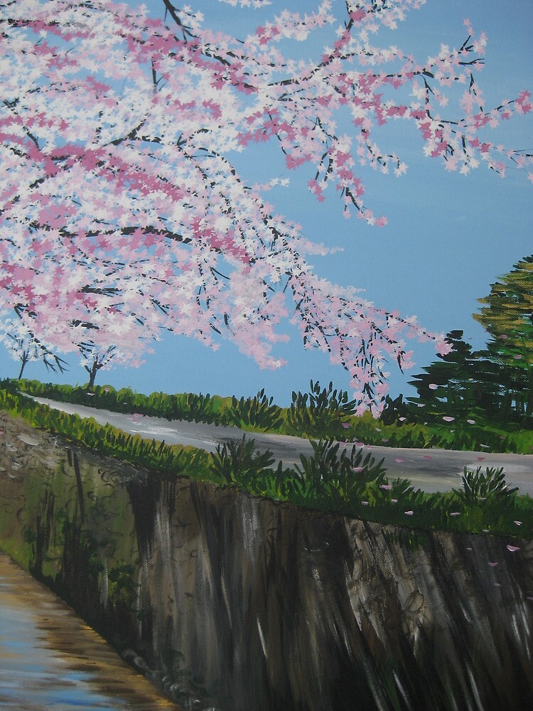 BEAUTIFUL PINK TREE BLOSSOM LARGE FRAMED CANVAS WALL ART PICTURE NEW PRINT A0 A1