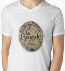 LA GOUDALE. Men's V-Neck T-Shirt