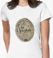 LA GOUDALE. Womens Fitted T-Shirt