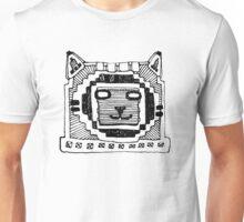 Robot cat simple graffiti Unisex T-Shirt