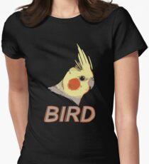 BIRD - Cockatiel Women's Fitted T-Shirt