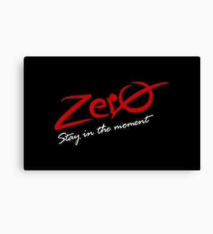 Zero VRS2 Canvas Print